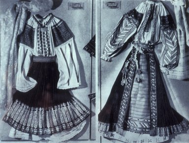 Peasant Costumes From Bucharest Region