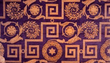 Fabric for Josephine Bonaparte's Chamber at St. Cloud