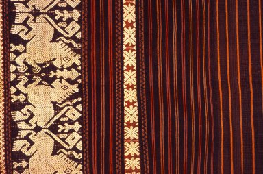 Supplementary Warp Lau Pahekung Sarong from East Sumba