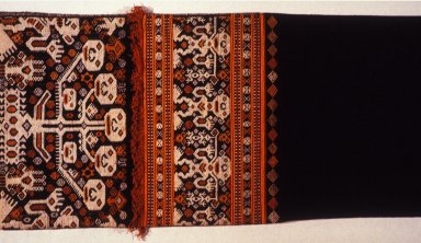 Woman's Skirt from East Sumba with Skull Tree Motif