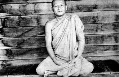 Monk Wearing Chiiwaun