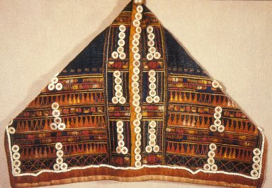 Woman's Hood From the Akha Tribe
