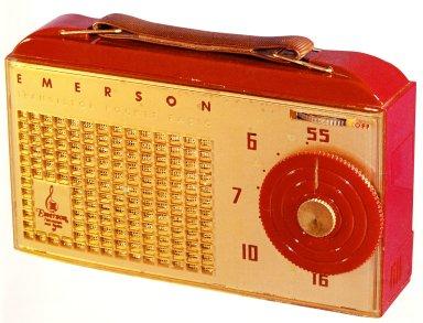 Model 838 Emerson Transistor Pocket Radio