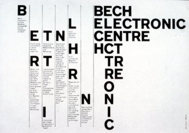Bech Electronics Center Advertisement
