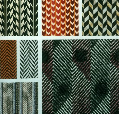 Chevron and Herringbone Prints