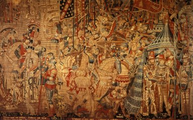 Royal Procession Tapestry