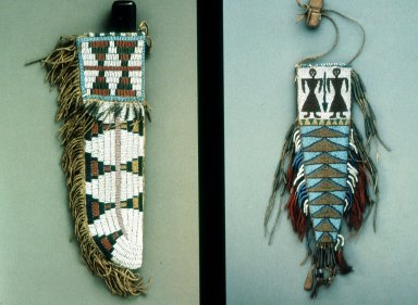 Beaded Knife Cases