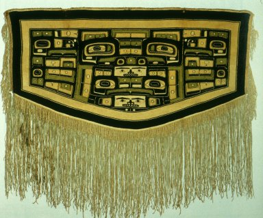 Chilkat Blanket with Motifs