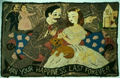 May Your Happiness Live Forever Hooked Rug