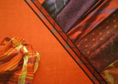 Jewel-Toned Industrial Fabrics