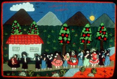 Cuadro: Capture of the Peasant Ronderos