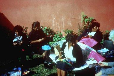 Women at the Manuela Ramos Center