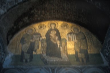 Hagia Sophia: Virgin and Child Flanked by Justinian and Constantine
