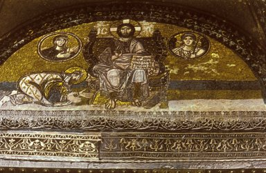 Hagia Sophia: Christ Enthroned