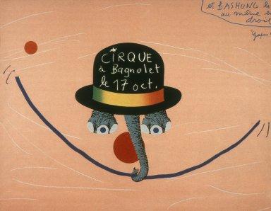 Cirque a Bagnolet Circus Poster