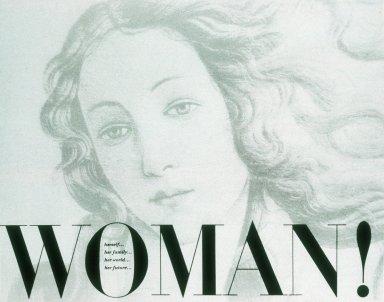 CBS Announcement Folder 'Woman!'