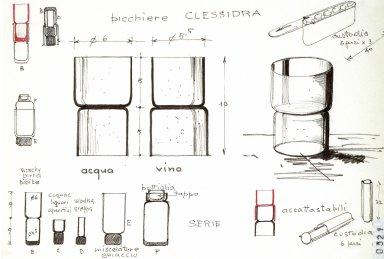 Clessidra Glasses