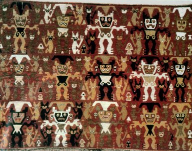 Central Coast Pillow with Fifteen Frontal Deities