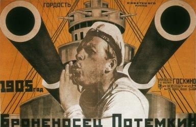 Poster for The Battleship Potemkin