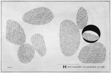 Haber Typographers Advertisement