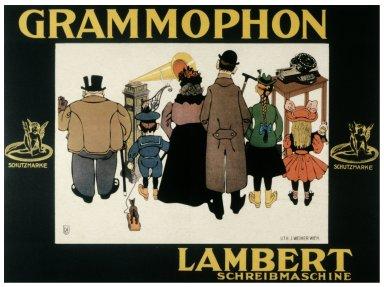 Grammophon Poster