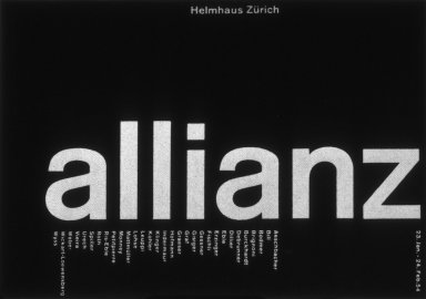 Allianz Art Exhibition Poster