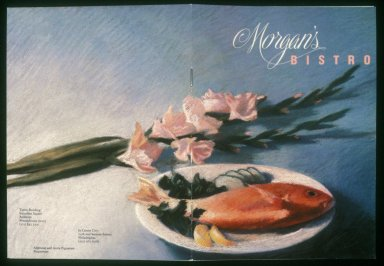 Morgan's Bistro Menu