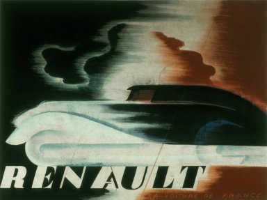 Advertisement Poster for Renault