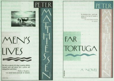 Book Covers for Peter Matthiessen Series