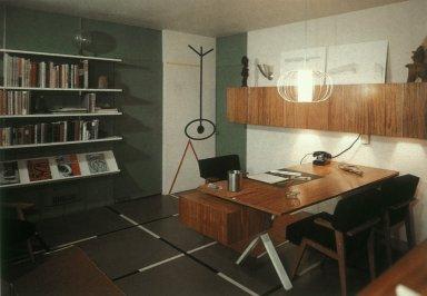 Los Angeles Office Alvin Lustig Designed for Himself