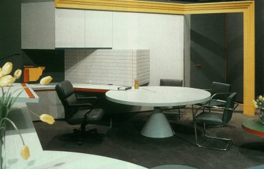 Office for the Chairman of a Formica Corporation