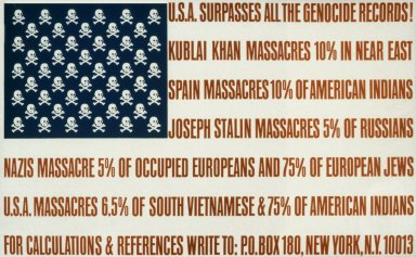U.S.A. Surpasses All the Genocide Records!