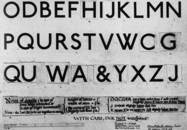 The Johnston Sans Typeface