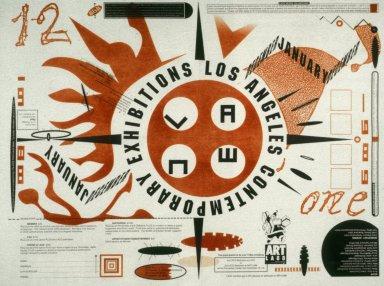 Los Angeles Contemporary Exhibitions Poster