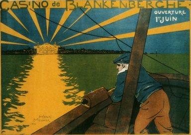 Casino de Blankenberghe Poster
