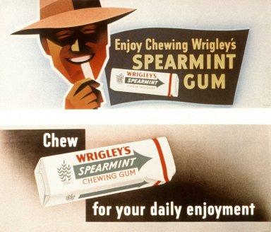 Enjoy Chewing Wrigley's Spearmint Gum and Chew Wrigley's Spearment Gum for Your Daily Enjoyment