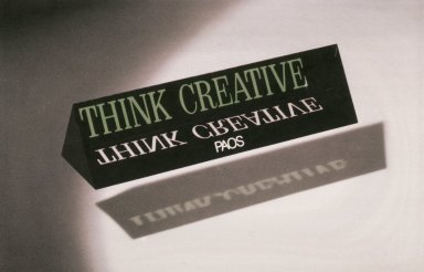 Corporate Identity: Think Creative