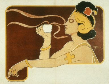 Rajah Coffee and Tea Poster