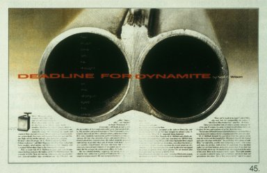 Magazine Spread - Deadline for Dynamite