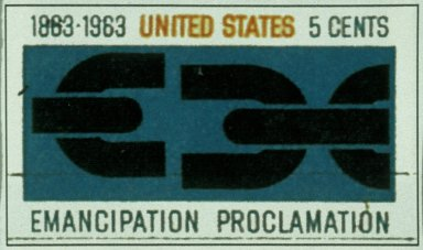 United States Stamp - Emancipation Proclamation