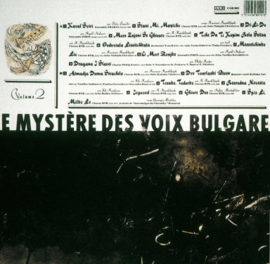 Record Album Cover for Le Mystere des Voix Bulgares