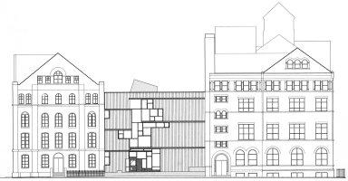 Pratt Institute: Higgens Hall Center Section