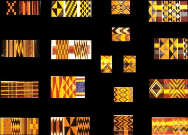 Eighteen Asante Inlay Patterns