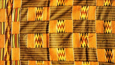 New Asante Silk Nsaduaso Cloth