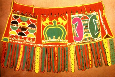 Ashante Applique Waist Cloth