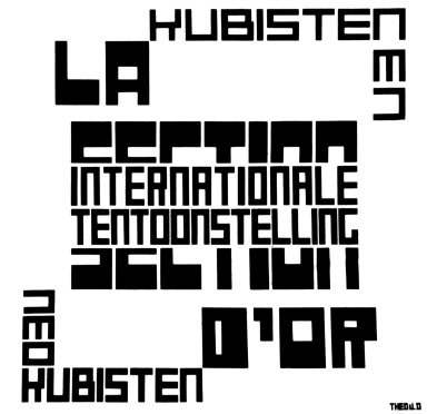Poster for the International Exhibition of La Section d'Or