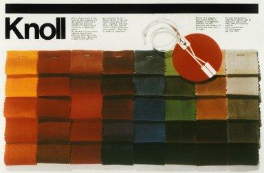 Knoll Trade Magazine Advertisement