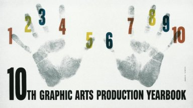 10th Graphic Arts Yearbook, Poster