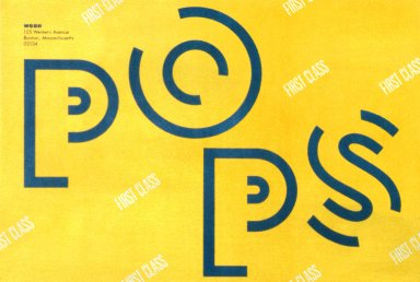 WGBH Boston Pops Envelope