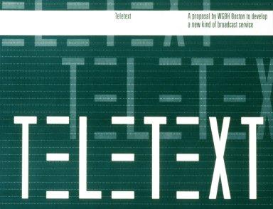 WGBH Boston Proposal for Teletext